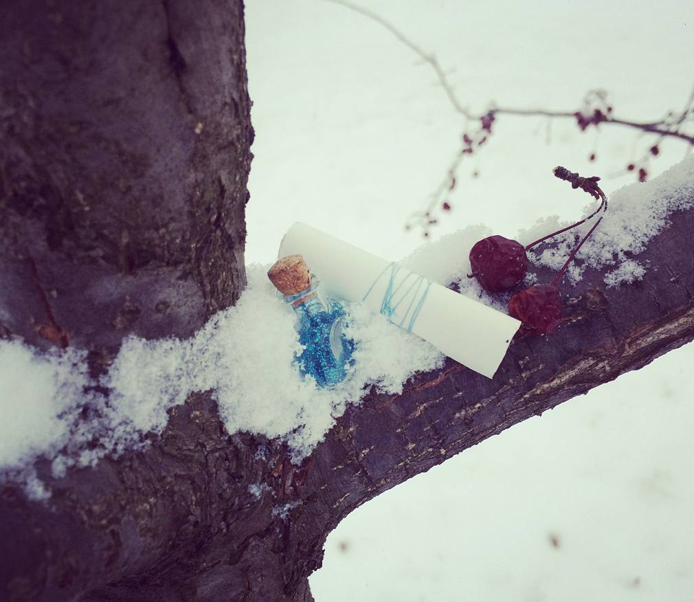 Fairy Scavenger Hunt for Kids Winter the mama village