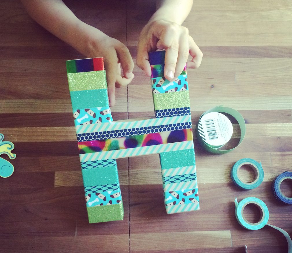 Letter Craft the Mama Village