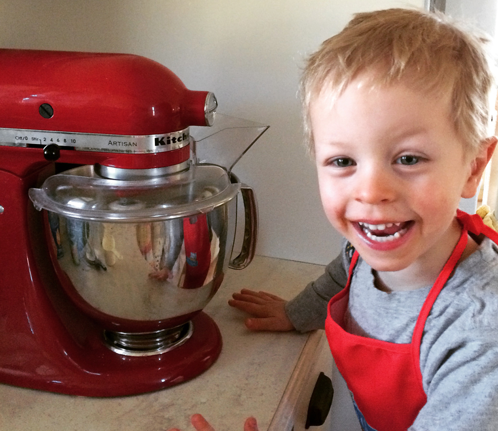 Baking with Kids at any age