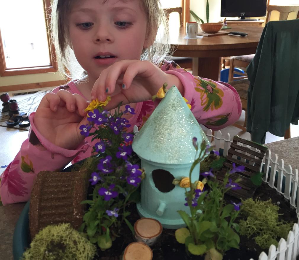 DIY Kids Fairy Garden