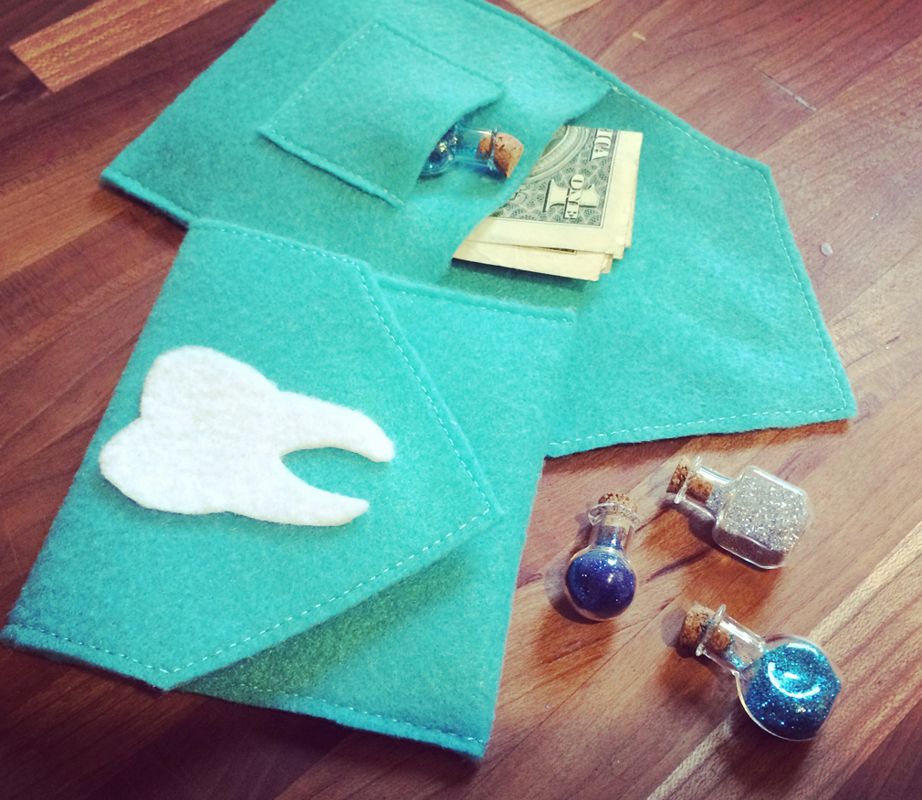 DIY Tooth Fairy Envelope for kids the mama village