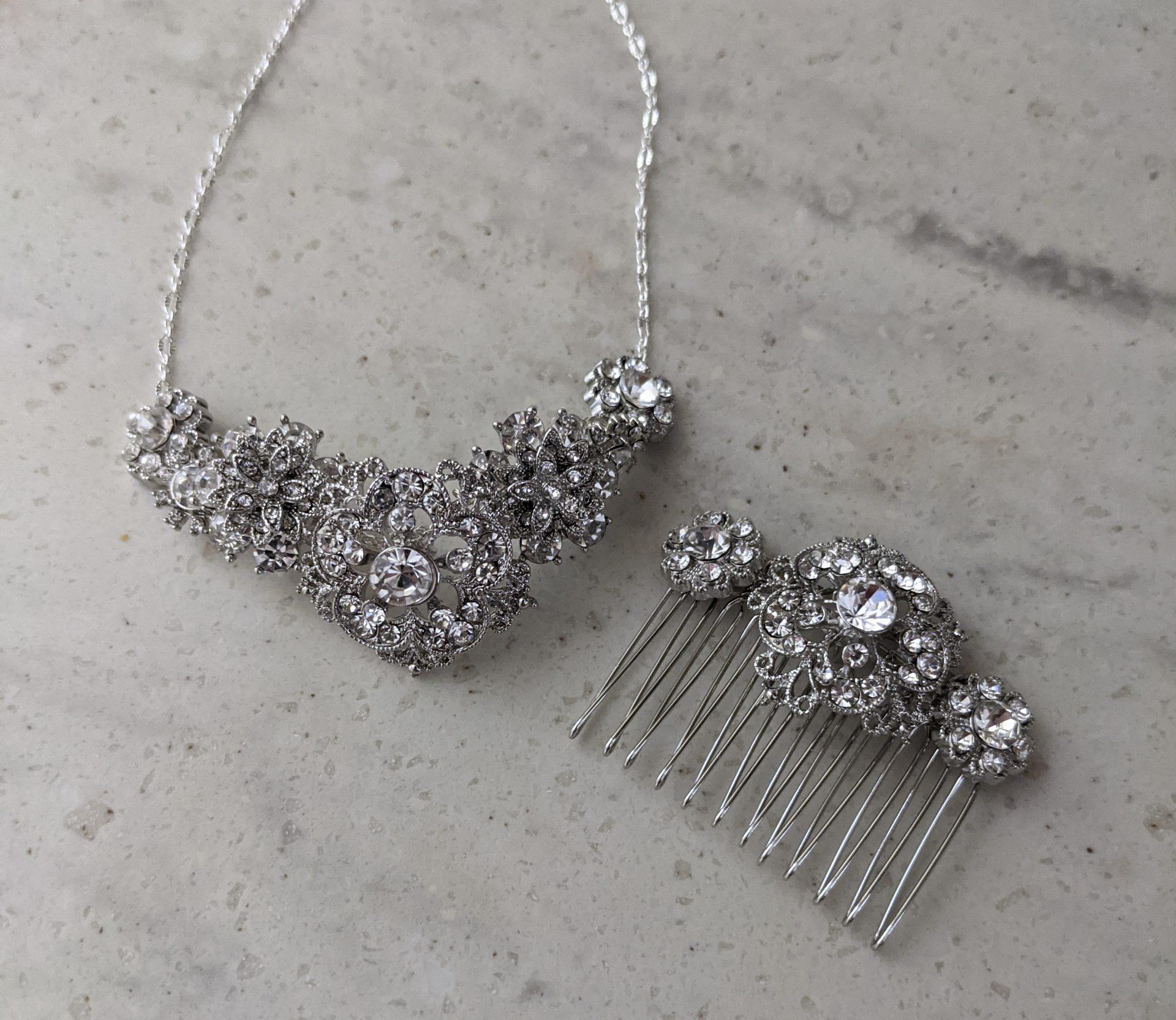 regency era DIY jewelry and hair comb themamavillage.com